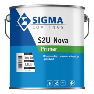 Sigma S2U Nova Primer verf voor Houtverf (Binnen, Grondverf en Primer, Sigma, Watergedragen) natuurlijk bij Verfgilde, beste Verf lage Prijs