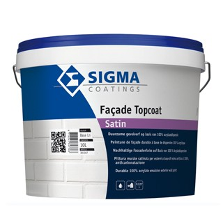 Sigma Facade Topcoat Satin verf voor Betonverf (Buiten, Sigma, Watergedragen) natuurlijk bij Verfgilde, beste Verf lage Prijs