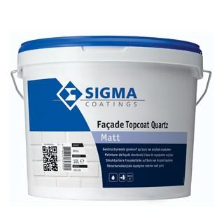 Sigma Facade Topcoat Quartz Matt verf voor Betonverf (Buiten, Sigma, Watergedragen) natuurlijk bij Verfgilde, beste Verf lage Prijs