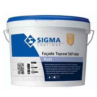 Sigma Facade Topcoat Self-Clean Matt verf voor Betonverf (Buiten, Sigma, Watergedragen) natuurlijk bij Verfgilde, beste Verf lage Prijs