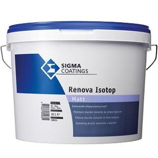 Sigma Renova Isotop Matt verf voor Betonverf (Binnen, Sigma, Watergedragen) natuurlijk bij Verfgilde, beste Verf lage Prijs