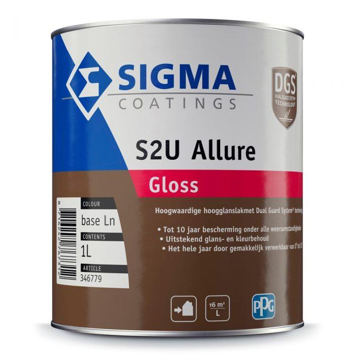 Sigma S2U Allure Gloss verf voor Houtverf, Kunststof verf, Metaalverf, Sale (Buiten, Oplosmiddelhoudend, Sigma) natuurlijk bij Verfgilde, beste Verf lage Prijs