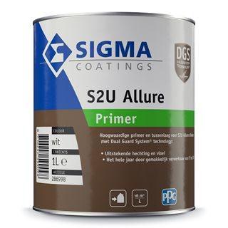 Sigma S2U Allure Primer verf voor Houtverf (Buiten, Grondverf en Primer, Oplosmiddelhoudend, Sigma) natuurlijk bij Verfgilde, beste Verf lage Prijs