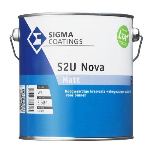 Sigma S2U Nova Matt verf voor Houtverf (Binnen, Sigma, Watergedragen) natuurlijk bij Verfgilde, beste Verf lage Prijs