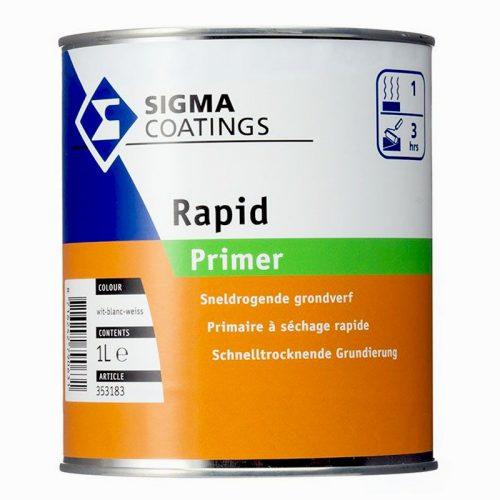 Sigma Rapid Primer verf voor Houtverf, Kunststof verf, Metaalverf (Buiten, Grondverf en Primer, Oplosmiddelhoudend, Sigma) natuurlijk bij Verfgilde, beste Verf lage Prijs