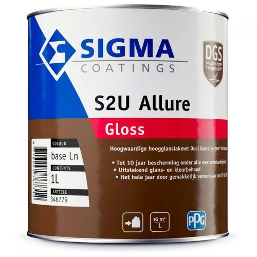 Sigma S2U Allure Gloss verf voor Houtverf, Kunststof verf, Metaalverf (Buiten, Oplosmiddelhoudend, Sigma) natuurlijk bij Verfgilde, beste Verf lage Prijs