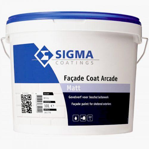Sigma Facade Coat Arcade Matt verf voor Betonverf (Buiten, Sigma, Watergedragen) natuurlijk bij Verfgilde, beste Verf lage Prijs