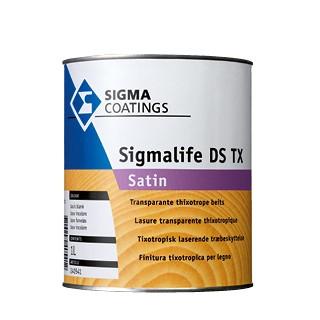 Sigma Sigmalife DS TX Satin verf voor Houtverf, Sigma (Beits, Buiten, Oplosmiddelhoudend, Sigma) natuurlijk bij Verfgilde, beste Verf lage Prijs
