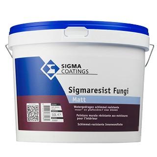 Sigma Sigmaresist Fungi Matt verf voor Betonverf, Sigma (Binnen, Sigma, Watergedragen) natuurlijk bij Verfgilde, beste Verf lage Prijs