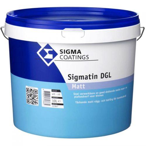 Sigma Sigmatin DGL Matt verf voor Betonverf, Sigma (Binnen, Sigma, Watergedragen) natuurlijk bij Verfgilde, beste Verf lage Prijs