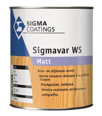 Sigma Sigmavar WS Matt verf voor Houtverf, Sigma (Beits, Binnen, Sigma, Watergedragen) natuurlijk bij Verfgilde, beste Verf lage Prijs