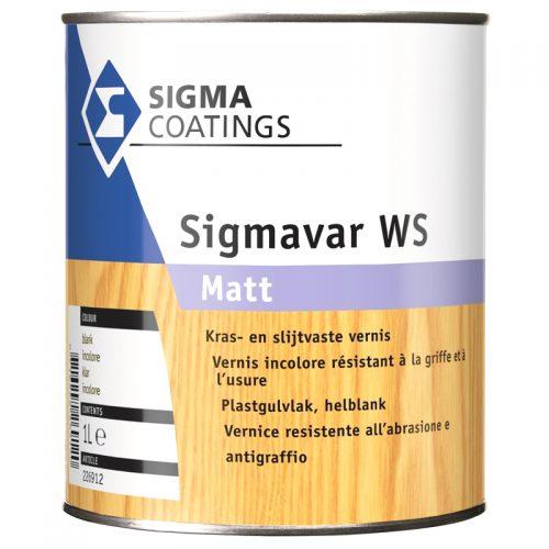 Sigma Sigmavar WS Matt verf voor Houtverf, Mat / Matt, Sigma (Beits, Binnen, Sigma, Watergedragen) natuurlijk bij Verfgilde, beste Verf lage Prijs