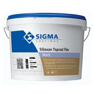 Sigma Siloxan Topcoat Flex Matt verf voor Betonverf (Buiten, Sigma, Watergedragen) natuurlijk bij Verfgilde, beste Verf lage Prijs