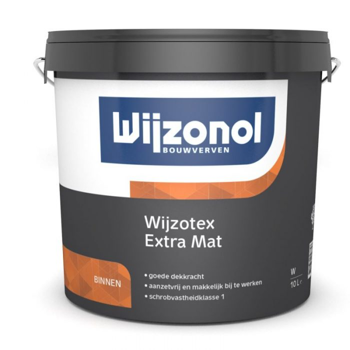 Wijzonol Wijzotex Extra Mat verf voor Betonverf, Mat / Matt, Wijzonol (Binnen, Watergedragen, Wijzonol) natuurlijk bij Verfgilde, beste Verf lage Prijs