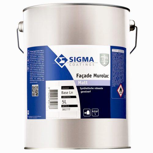 Sigma Facade Murolac Matt verf voor Betonverf (Buiten, Oplosmiddelhoudend, Sigma) natuurlijk bij Verfgilde, beste Verf lage Prijs