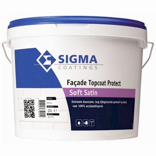 Sigma Facade Topcoat Protect Soft Satin verf voor Betonverf (Buiten, Sigma, Watergedragen) natuurlijk bij Verfgilde, beste Verf lage Prijs