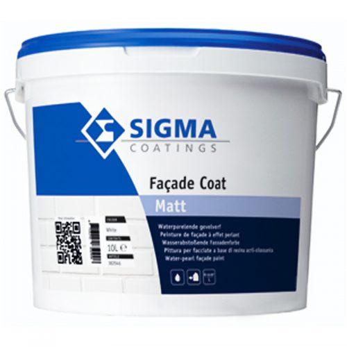 Sigma Facade Coat Matt verf voor Betonverf (Buiten, Sigma, Watergedragen) natuurlijk bij Verfgilde, beste Verf lage Prijs
