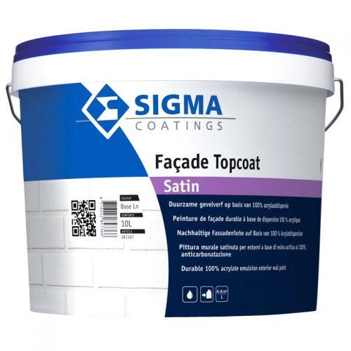 Sigma Facade Topcoat Satin verf voor Betonverf, Sigma, Zijdeglans / Satin (Buiten, Sigma, Watergedragen) natuurlijk bij Verfgilde, beste Verf lage Prijs