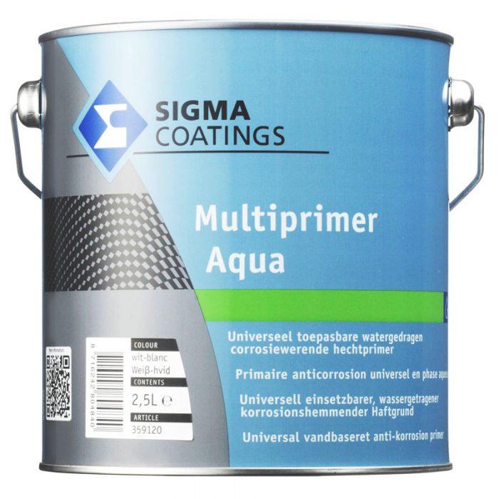 Sigma Multiprimer Aqua verf voor Houtverf, Kunststof verf, Metaalverf, Sigma (Binnen, Grondverf en Primer, Sigma) natuurlijk bij Verfgilde, beste Verf lage Prijs