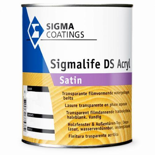Sigma Sigmalife DS Acryl Satin verf voor Houtverf, Sigma (Beits, Binnen, Sigma, Watergedragen) natuurlijk bij Verfgilde, beste Verf lage Prijs