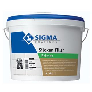 Sigma Siloxan Filler verf voor Betonverf (Buiten, Grondverf en Primer, Sigma, Watergedragen) natuurlijk bij Verfgilde, beste Verf lage Prijs