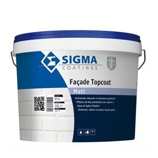 Sigma Facade Topcoat Matt verf voor Betonverf, Sigma (Buiten, Sigma, Watergedragen) natuurlijk bij Verfgilde, beste Verf lage Prijs