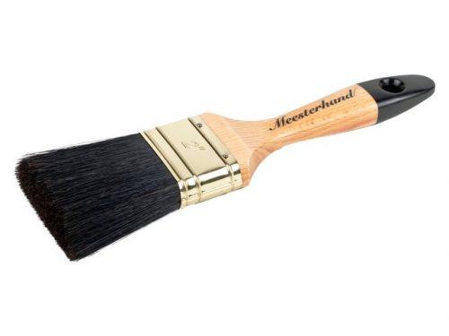 Meesterhand Classic Platte Kwast verf voor Verfgereedschap en materialen (Meesterhand, Oplosmiddelhoudend) natuurlijk bij Verfgilde, beste Verf lage Prijs