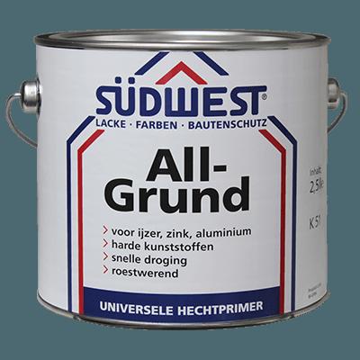 Südwest AllGrund K51 verf voor Houtverf, Kunststof verf, Metaalverf, Vista (Binnen, Buiten, Grondverf en Primer) natuurlijk bij Verfgilde, beste Verf lage Prijs