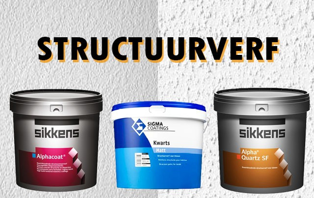 Structuurverf Sigma & Sikkens