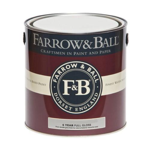 Farrow & Ball Full Gloss verf voor Farrow & Ball verf, Hoogglans / High Gloss, Houtverf, Metaalverf (Binnen, Buiten, Farrow & Ball, Watergedragen) natuurlijk bij Verfgilde, beste Verf lage Prijs