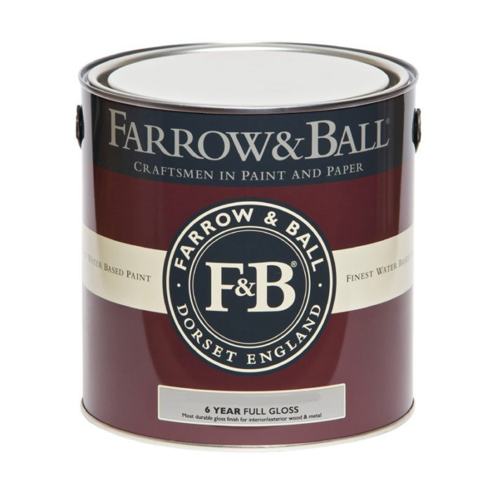 Farrow & Ball Full Gloss verf voor Farrow & Ball verf, Hoogglans / High Gloss, Houtverf, Metaalverf (Binnen, Buiten, Farrow & Ball, Watergedragen) natuurlijk bij Verfgilde, beste Verf lage Prijs