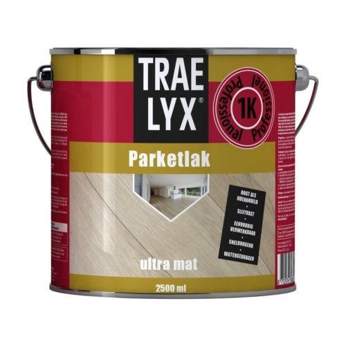 Trae Lyx Parketlak Ultra Mat verf voor Houtverf, Mat / Matt, Trae Lyx (Beits, Binnen, Trae Lyx, Watergedragen) natuurlijk bij Verfgilde, beste Verf lage Prijs