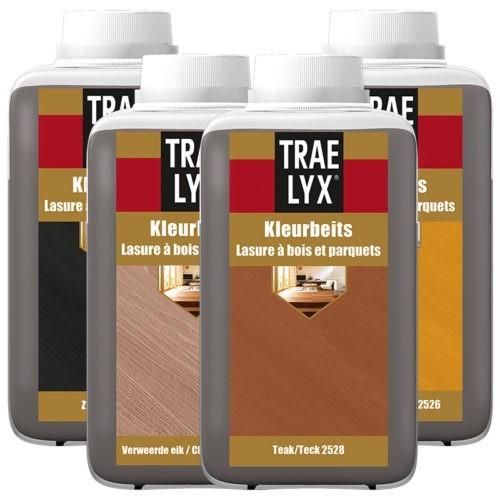 Trae Lyx Kleurbeits verf voor Houtverf, Trae Lyx (Beits, Binnen, Trae Lyx, Watergedragen) natuurlijk bij Verfgilde, beste Verf lage Prijs
