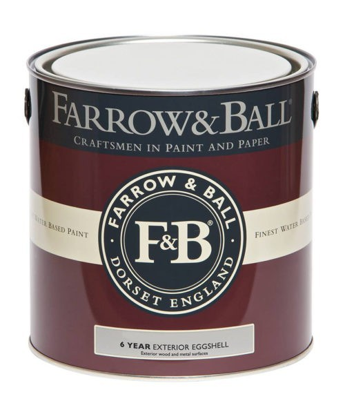 Farrow & Ball Exterior Eggshell verf voor Farrow & Ball verf, Houtverf, Mat / Matt, Metaalverf (Buiten, Farrow & Ball) natuurlijk bij Verfgilde, beste Verf lage Prijs