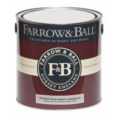 Farrow & Ball Exterior Wood - Primer & Undercoat verf voor Farrow & Ball verf, Houtverf (Buiten, Farrow & Ball, Grondverf en Primer) natuurlijk bij Verfgilde, beste Verf lage Prijs