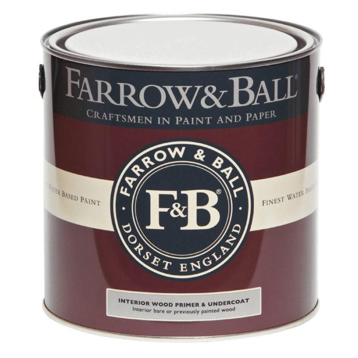 Farrow & Ball Interior Wood - Primer & Undercoat verf voor Farrow & Ball verf, Houtverf (Binnen, Farrow & Ball, Grondverf en Primer) natuurlijk bij Verfgilde, beste Verf lage Prijs