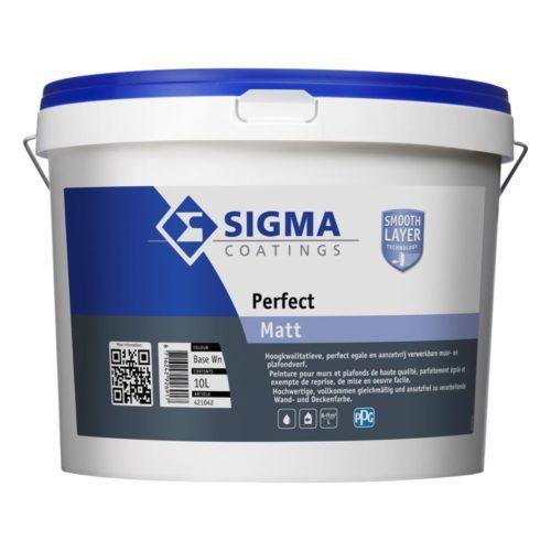 Sigma Perfect Matt verf voor Betonverf, Mat / Matt, Sigma (Binnen, Sigma, Watergedragen) natuurlijk bij Verfgilde, beste Verf lage Prijs
