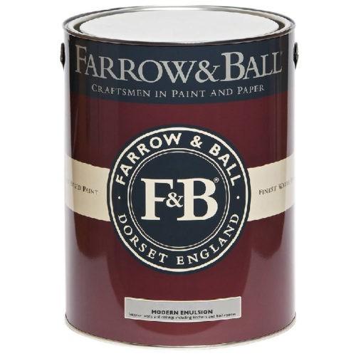 Farrow & Ball - Modern Emulsion verf voor Betonverf, Farrow & Ball verf, Mat / Matt (Binnen, Watergedragen) natuurlijk bij Verfgilde, beste Verf lage Prijs