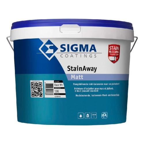 Sigma StainAway Matt verf voor Betonverf, Mat / Matt, Sigma (Binnen, Sigma, Watergedragen) natuurlijk bij Verfgilde, beste Verf lage Prijs