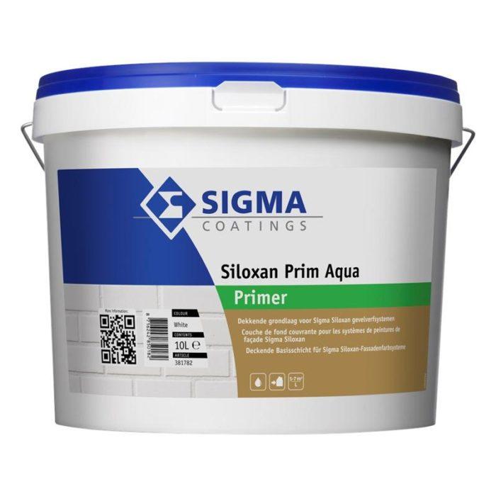 Sigma Siloxan Prim Aqua verf voor Betonverf, Sigma (Buiten, Sigma, Watergedragen) natuurlijk bij Verfgilde, beste Verf lage Prijs