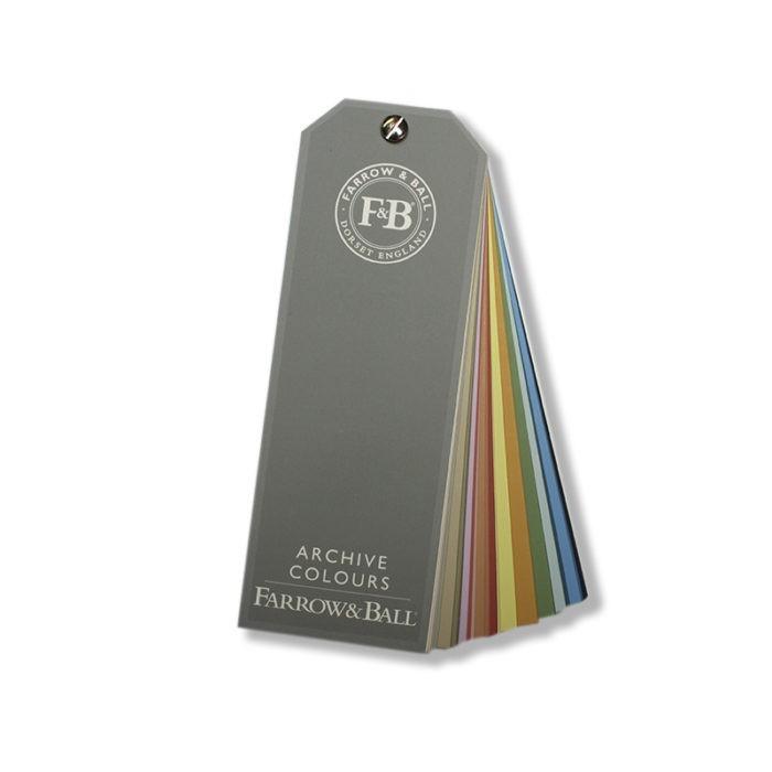 Farrow & Ball Archief kleurenwaaier verf voor Farrow & Ball verf (Farrow & Ball) natuurlijk bij Verfgilde, beste Verf lage Prijs