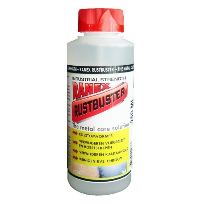 Ranex Rustbuster - roestverwijderaar verf voor Verfgereedschap en materialen (Binnen, Buiten) natuurlijk bij Verfgilde, beste Verf lage Prijs